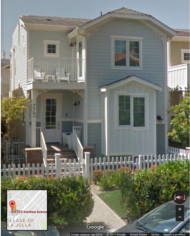 Santiago Gaxiola Coppel and His Wife Own This $1.7 Million Dollar Home in La Jolla, California