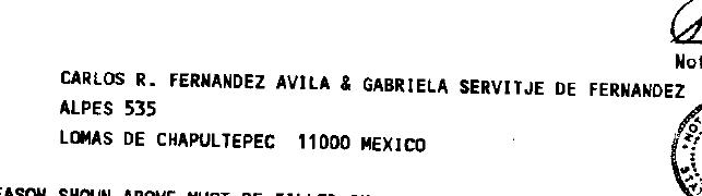 Carlos Rodrigo Fernández Ávila and Gabriela Servitje de Fernández Own a Vail, Colorado Timeshare