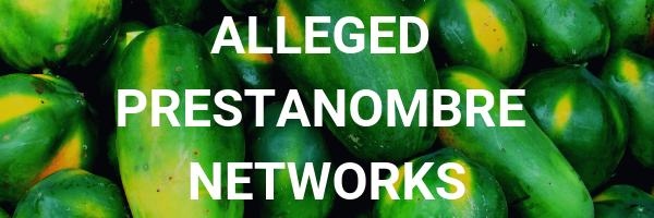 Alleged prestanombre networks button