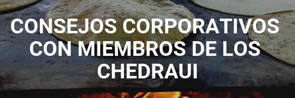 Botón de Consejos Corporativos con miembros de los Chedraui