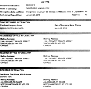 BC Corporate Registry- excerpt1