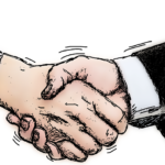 Image of handshake