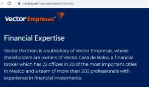 Fragmento del sitio web